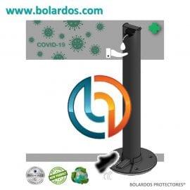 400.009G - Bolardo Dosificador CONDAL ALU-GEL con pedal