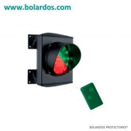 Semáforo para control de aforos