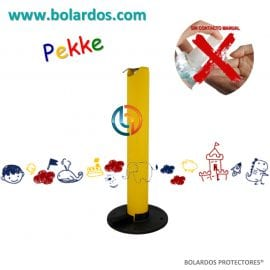 Bolardo con pedal Pekke